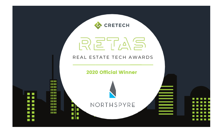 Northspyre Wins CREtech's 2020 Real Estate Technology Award